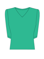 3/4 Sleeve V-Neck (Click for SALE Colors)
